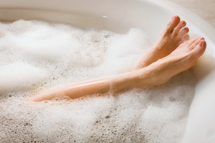 Bath Luxury (stockphoto--wish it were me)