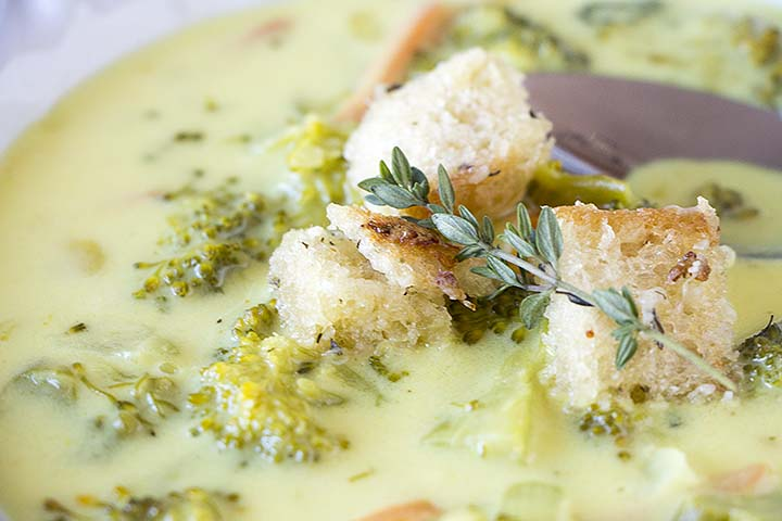 Smitten Kitchen Broccoli Cheese Soup
