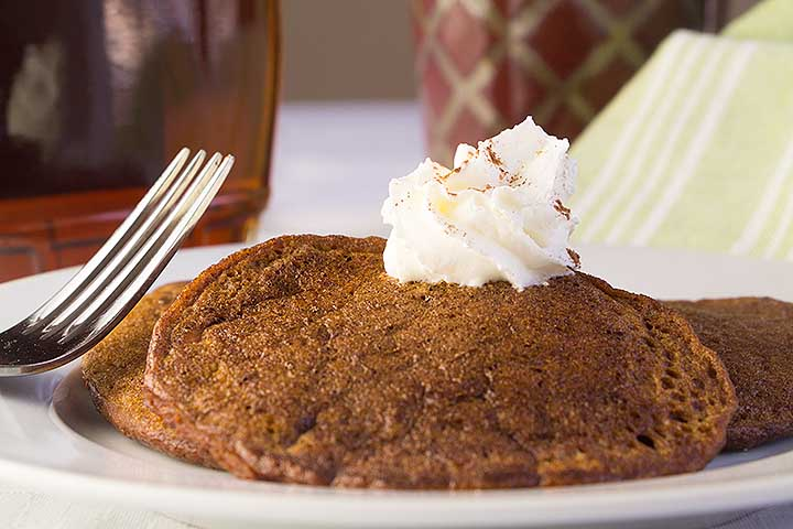 Antioxidant Blender Sweet Potato Pancakes
