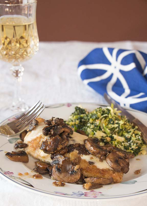 Super easy and delicious, this One Dish Chicken & Mushrooms proves that a simple, one-dish entree can be good enough for company.