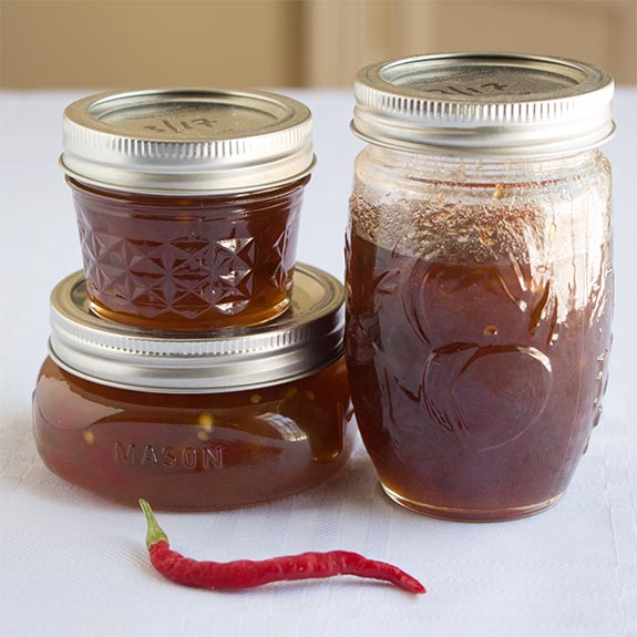 How I made my first jelly (hot pepper). And fixed it when it didn't gel. And turned it in to a delicious hot pepper jelly cream cheese appetizer.