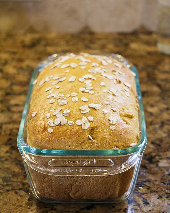 With white whole wheat flour & oatmeal, plus vitamins and antioxidants from sweet potatoes, Sweet Potato Bread is a nutritional powerhouse.