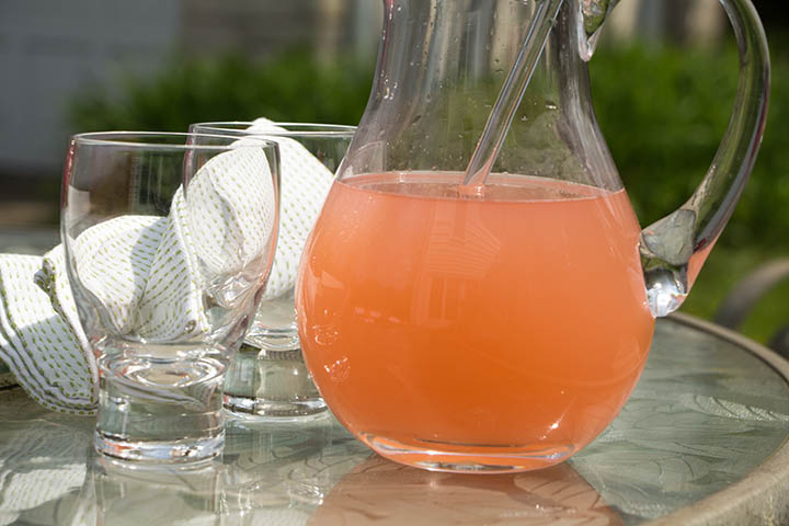 Sweet, tart and refreshing, rhubarb lemonade is the perfect spring beverage either from your garden or a fun farm market trip.
