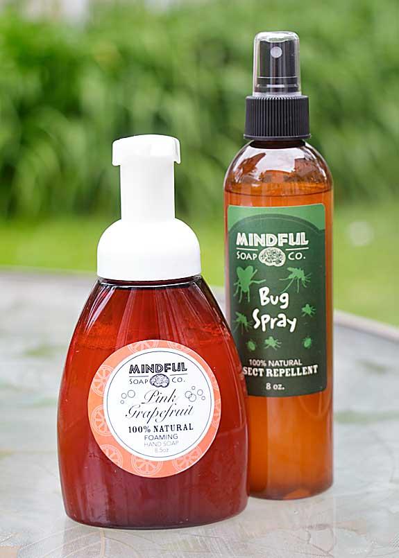 Natural Bug Repellent & Soap