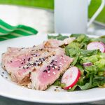 Grilled Ahi Tuna Salad (or Not Salad)