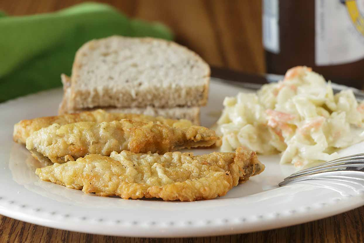 Pan-fried perch are the darling of the Great Lakes fish fry.  And they are easy to prepare at home with some simple instructions.