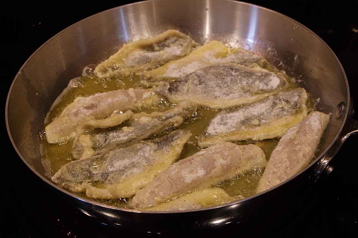 frying perch
