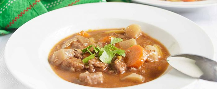 Hearty Stovetop Beef Stew (Bourguignon)