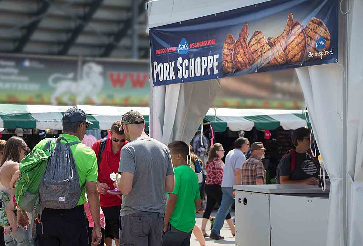 The Pork Schoppe at Wisconsin State Fair