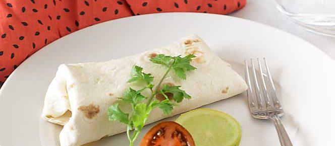 Mini-pepper Breakfast Burritos