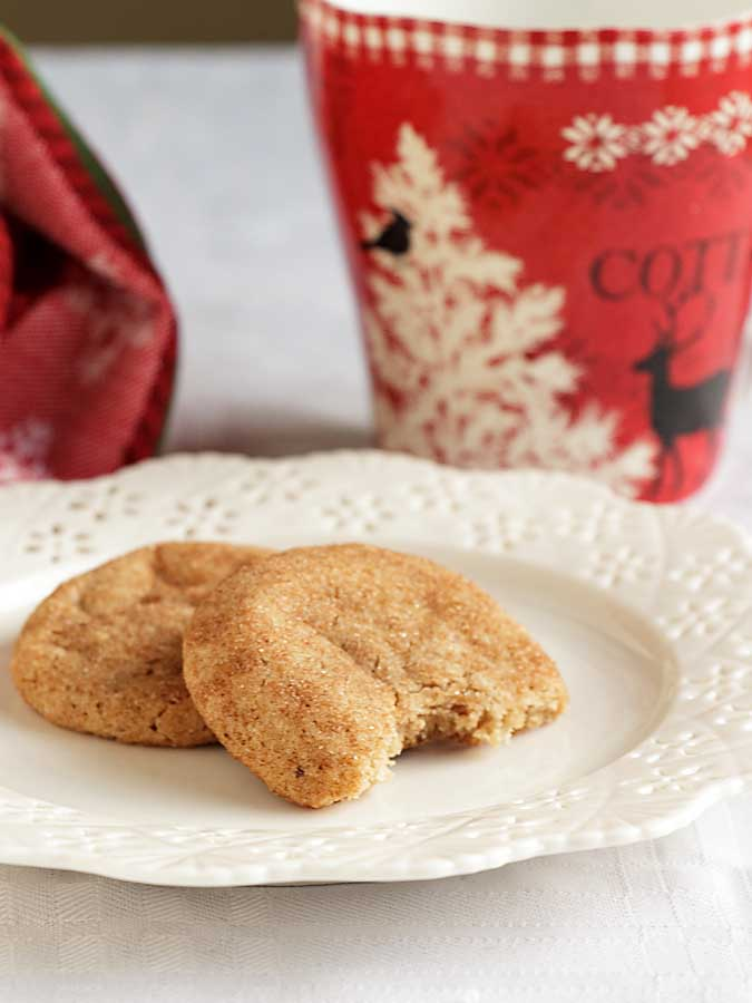 Fragrant and sophisticated but with an air of warmth and wholesomeness, Chai Tea Cookies are perfect for a cookie exchange, hostess gift or just for snacking.