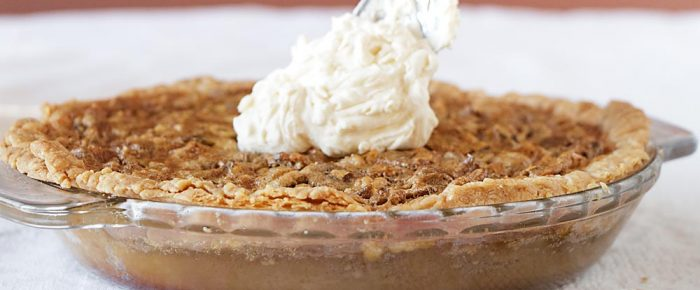 Maple Nut Pie for Two (or More) – No Corn Syrup