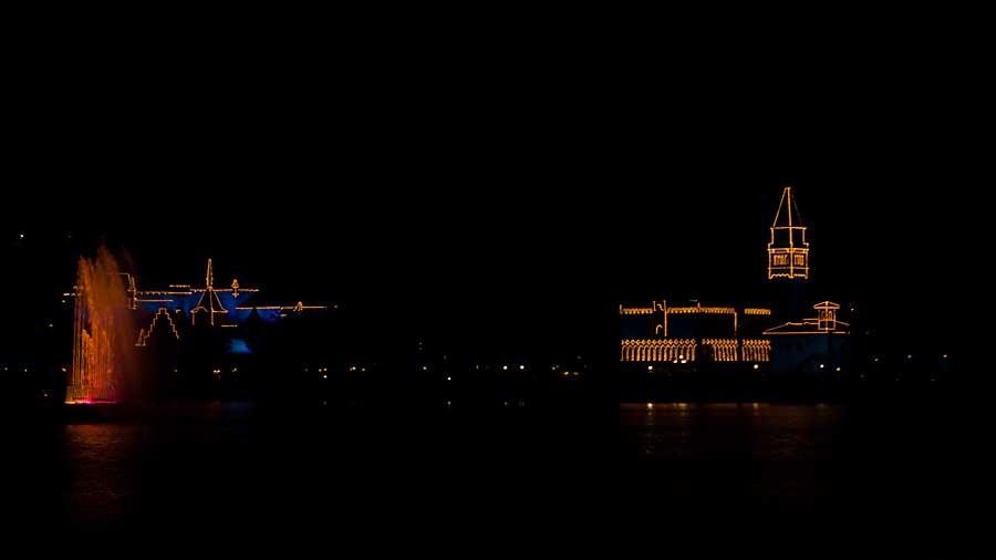 Lights on the Lake at Epcot