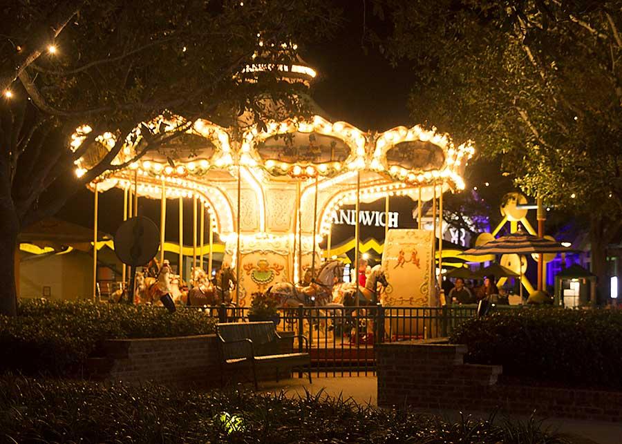 Visit to Orlando Disney Springs at Night