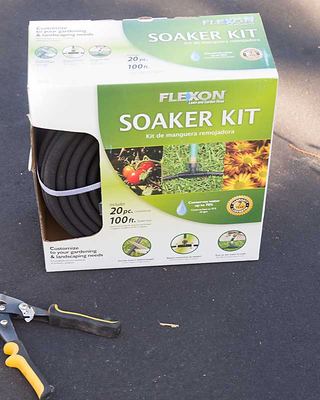 Soaker Hose for Garden Irrigation
