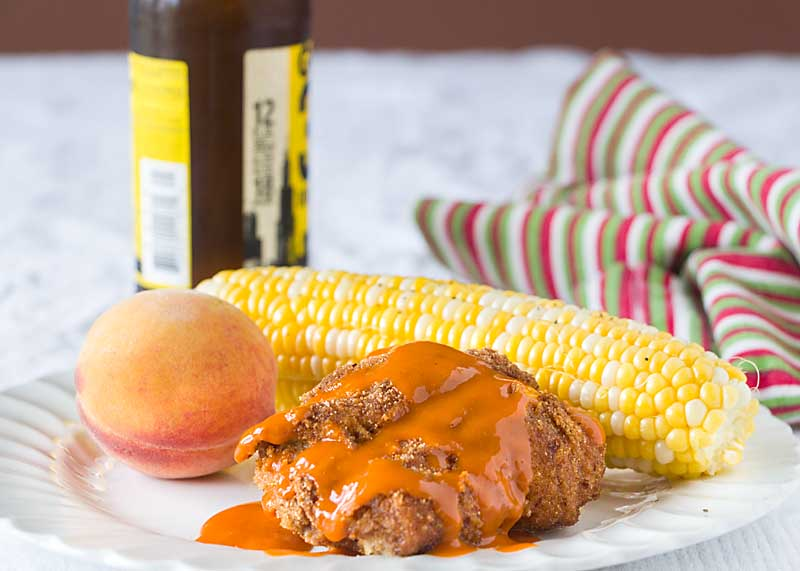 Baked Buffalo Chicken Breast brings you spicy & blue cheesy flavor in a healthy baked entrée.With six ingredients its perfect for weeknight football dinner!