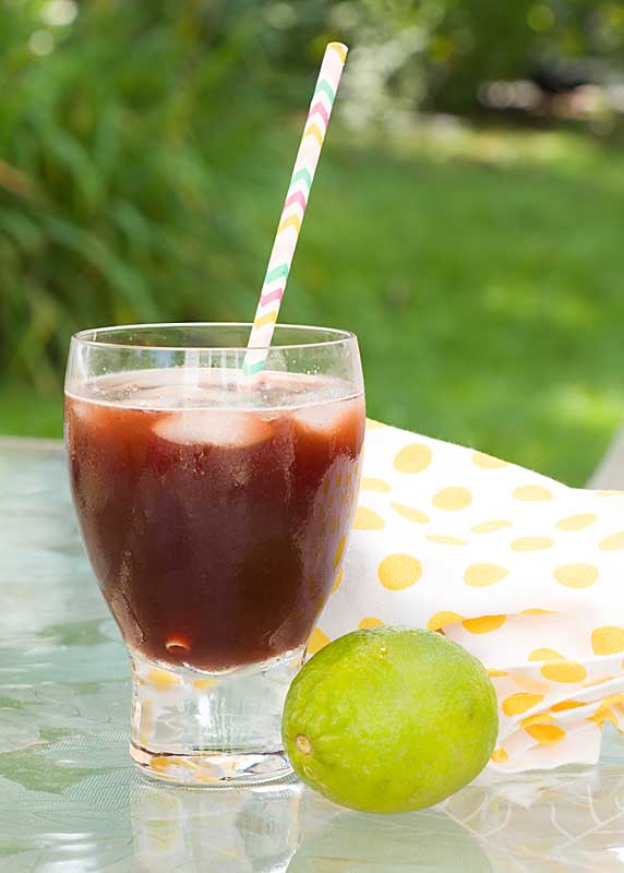 Like a Moscow Mule with added cherry juice, this alcohol free (or not) Cherry Lime Ginger Ale, brings added health benefits and is a taste sensation!