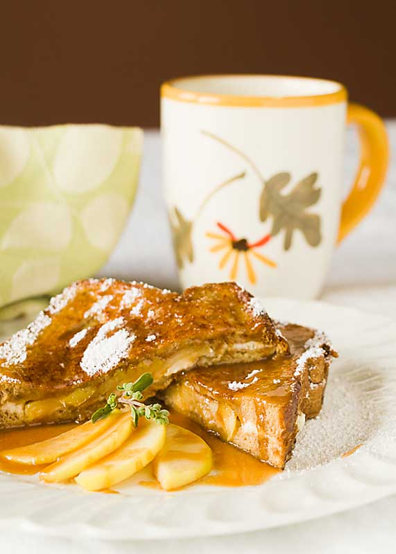Creamy sweet and rich, caramel apple French toast will make you forget everything you didn't get done this summer and embrace the beautiful fall.