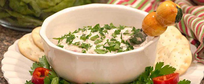 Four Ingredient Smoked Whitefish Chevre