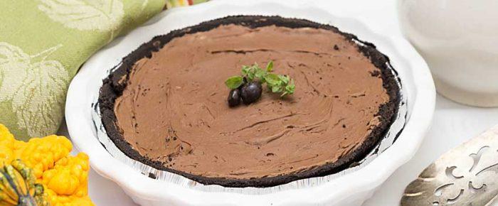 Chocolate Mascarpone Pie – 4 Ingredients