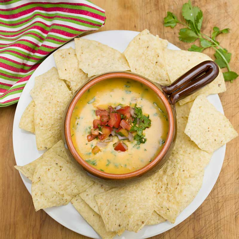 Ready in about 15 minutes, this easy queso dip is a delicious appetizer or snack, especially if you're longing for some heat.