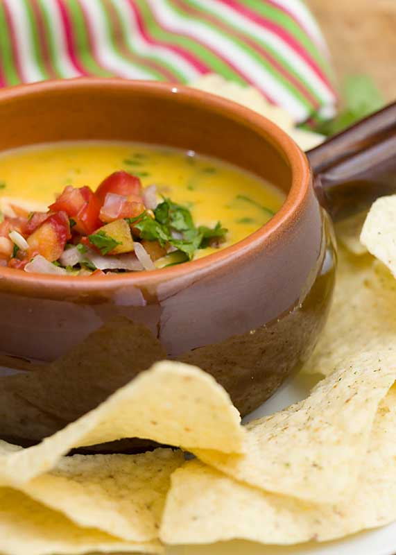 Ready in about ?? minutes, this easy queso dip is a delicious appetizer or snack, especially if you're longing for some heat.