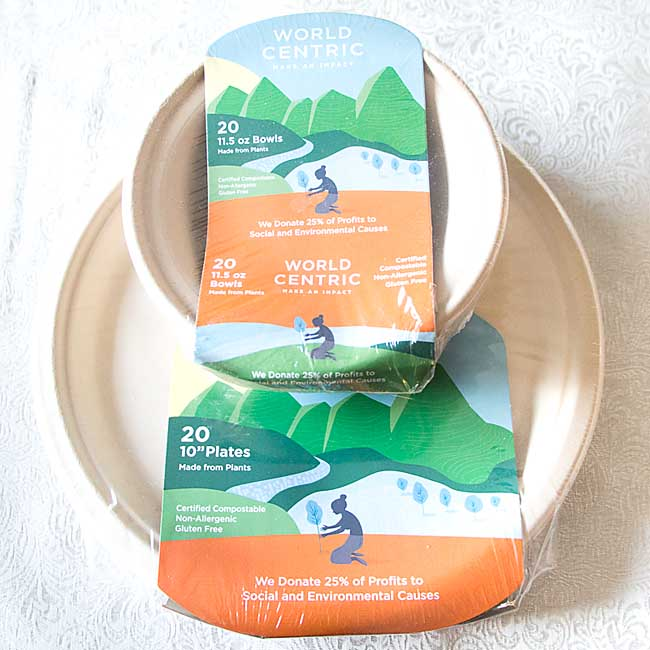 Compostable Plates and Bowls!