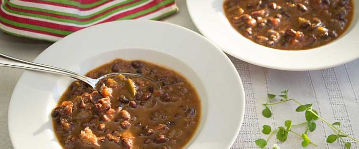 Cajun Bean Soup Comfort Food