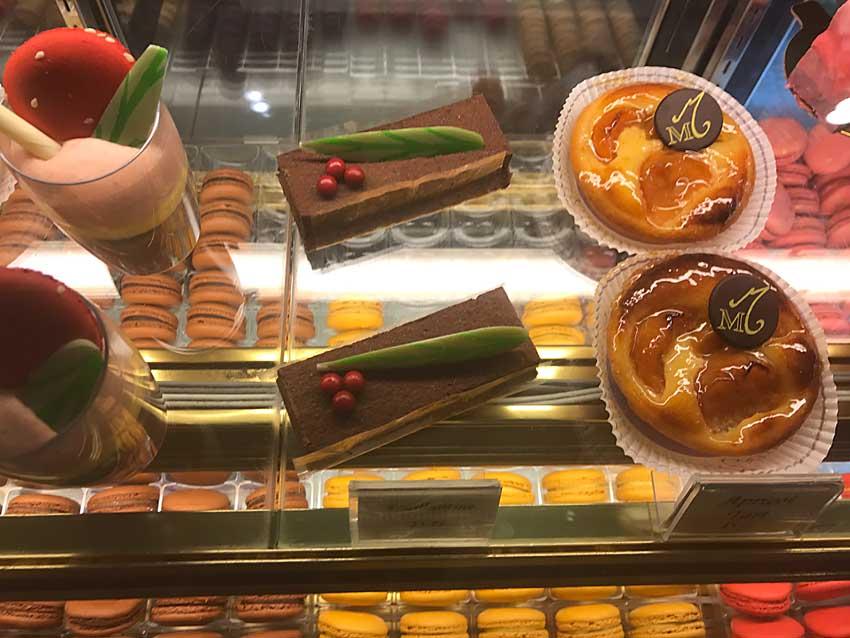 Pastries at La Maison du Macaron