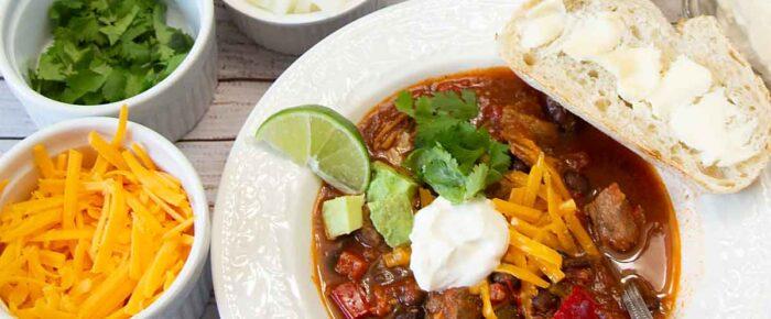 Pork Chili (or Spicy Pork Stew?)