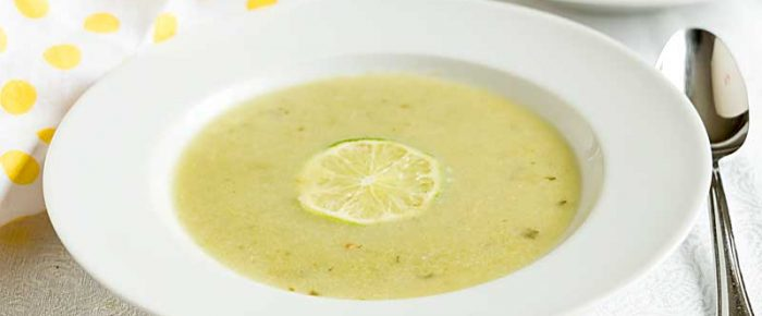Spring Pea Soup with Coconut Milk