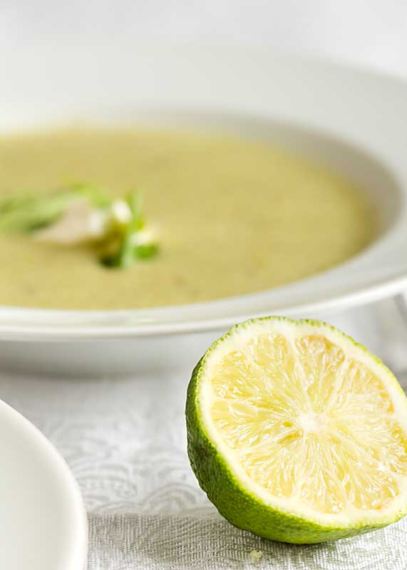 Subtly but richly flavored with hints of ginger, lime and coconut, Spring Pea Soup helps welcome in one of the season's first vegetables.