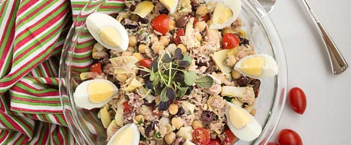 Tuna Antipasto Salad