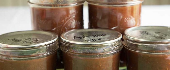 Apple Smoked BBQ Sauce