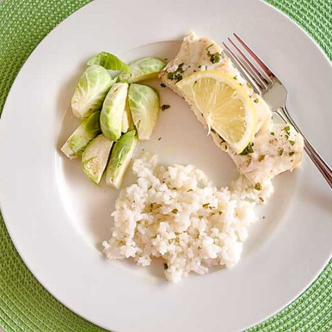 Oven-Poached Lemon Butter Cod