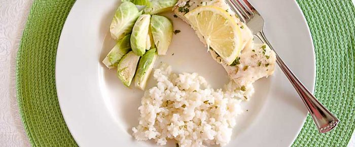 Oven-Poached Lemon Butter Cod