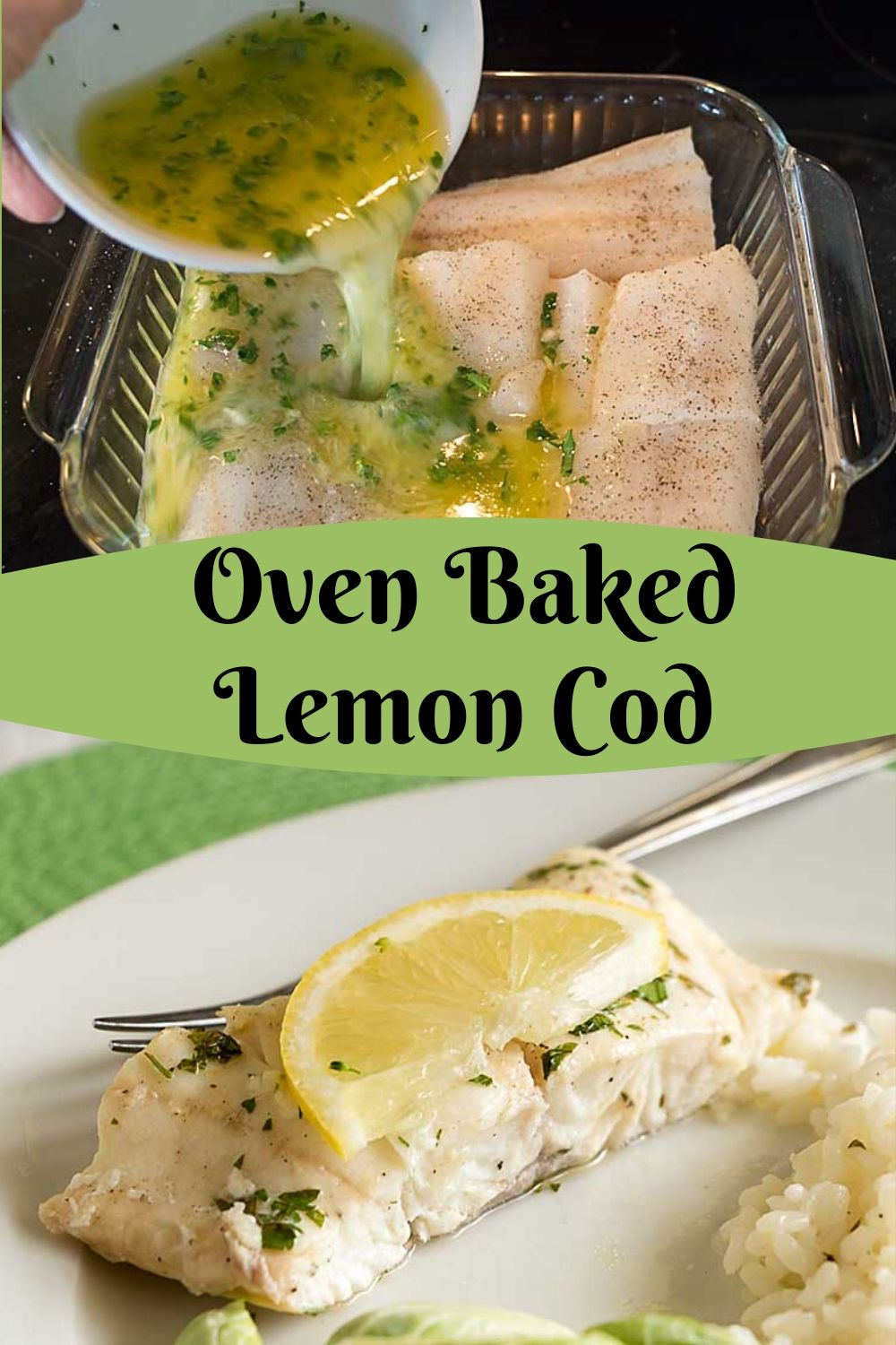 With a complex flavor that belies the simple ingredients and preparation, Oven-Poached Lemon Butter Cod is a perfect addition to your dinner repertoire.
