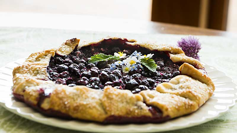 A free form pie that is super easy and tasty, blueberry galette has to be on your summer menu! Perfect for brunch or dessert or just snacking!