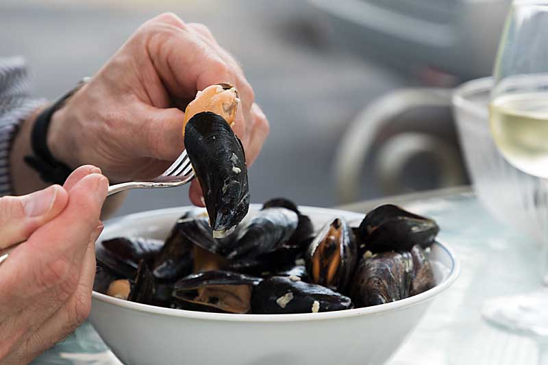 Flavored with shallots, garlic, mushrooms and wine, Mussels in Mushroom Cream Sauce is a unique twist on a classic appetizer or light supper.