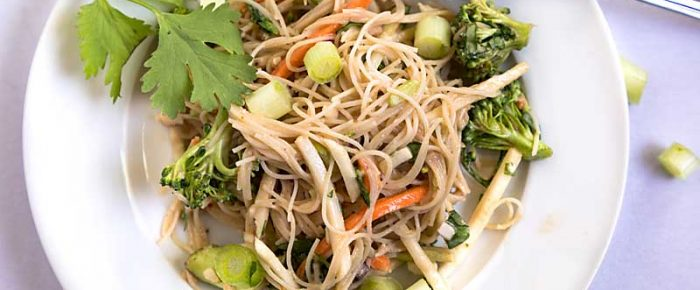 Lazy Mom Thai Noodle and Vegetable Salad