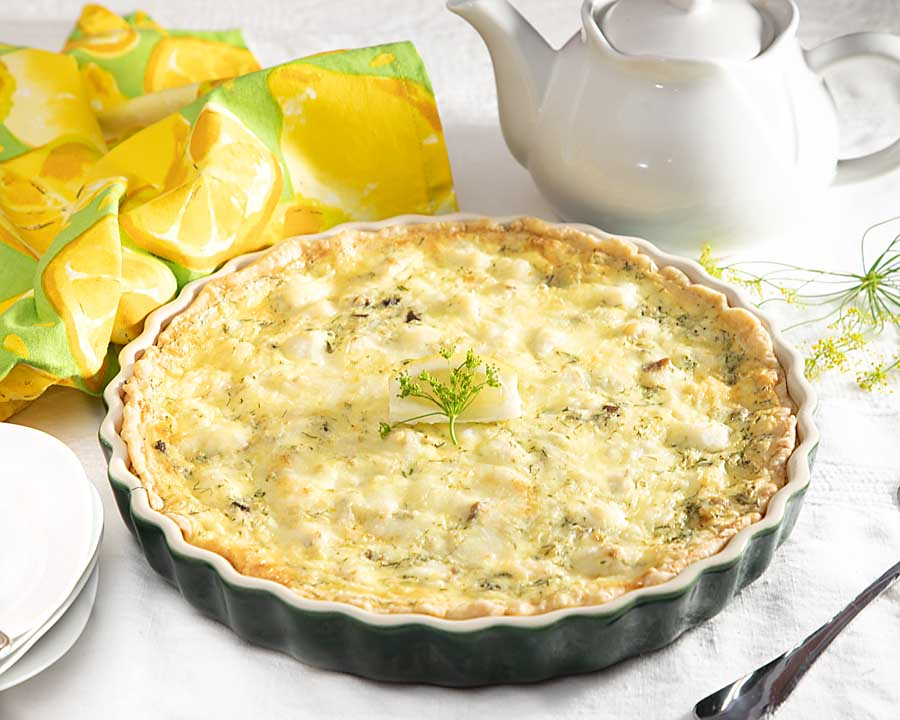 A delicious and healthy make ahead dish, whitefish dill quiche can be the answer to the uber busy transition from summer to fall.