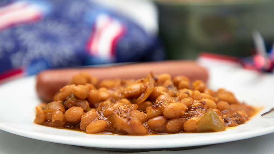 Baked beans are a fall classic! And it's a side dish that's good, even straight from a can.
