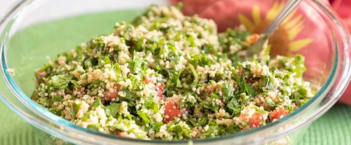 Kale Tabbouleh from the Pantry