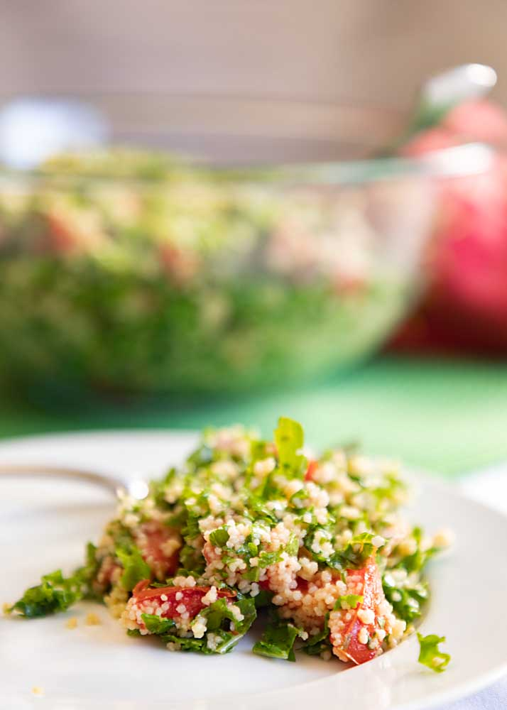 No kale was composted in the making of this blog post. 'Cause Kale Tabbouleh Salad is a tasty and fun variation on the parsley-based original.