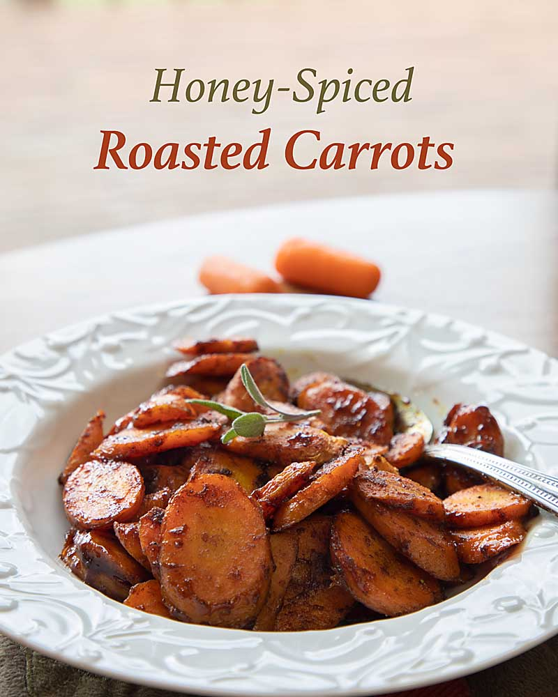 With a sweet complex flavor profile from cinnamon, turmeric, ginger, and cardamom, Honey Spiced Roasted Carrots go from reliable to WOW.