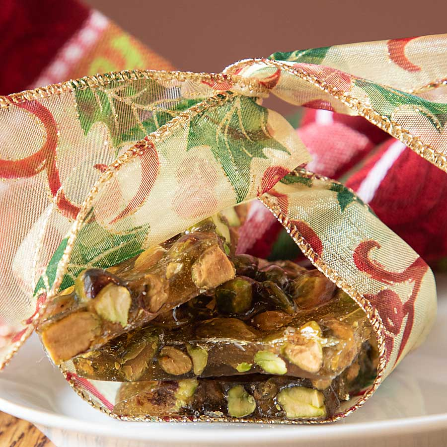 What is tastier and more fun for the holidays than Pistachio Brittle! Step by step instructions for making this candy favorite with no corn syrup.