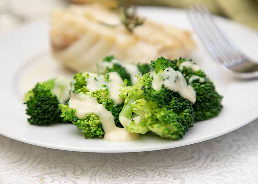 Turn your veggies into comfort food, with this recipe for Broccoli in Cheese Sauce. Rich and cheesy, it's ready in minutes!