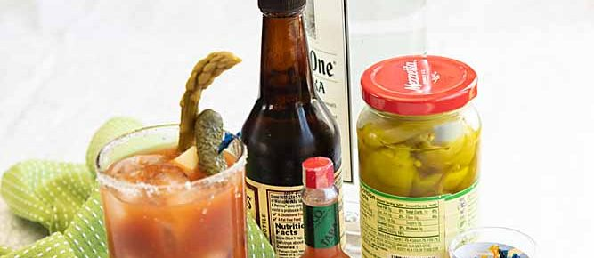 Bloody Mary Five Ways