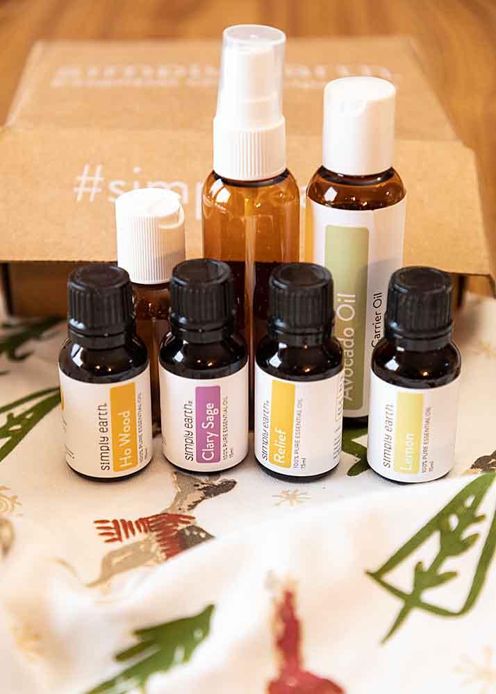 "January ""Wellness"" Essential Oil Box"