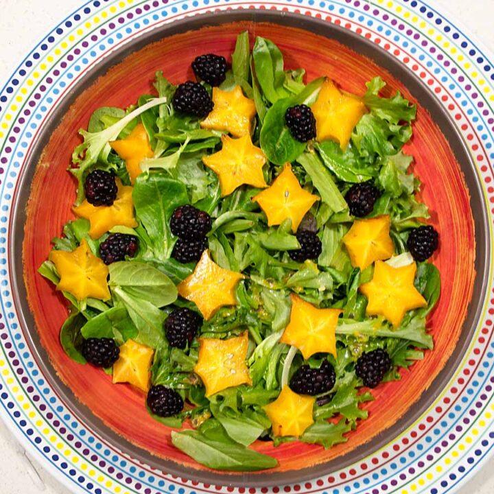 Moon and Starfruit Salad